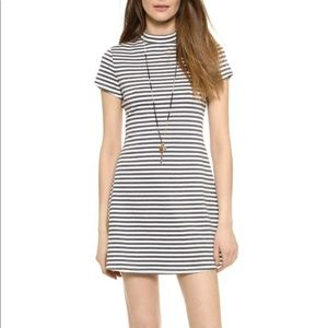 FP Beach Striped Mock Neck Dress